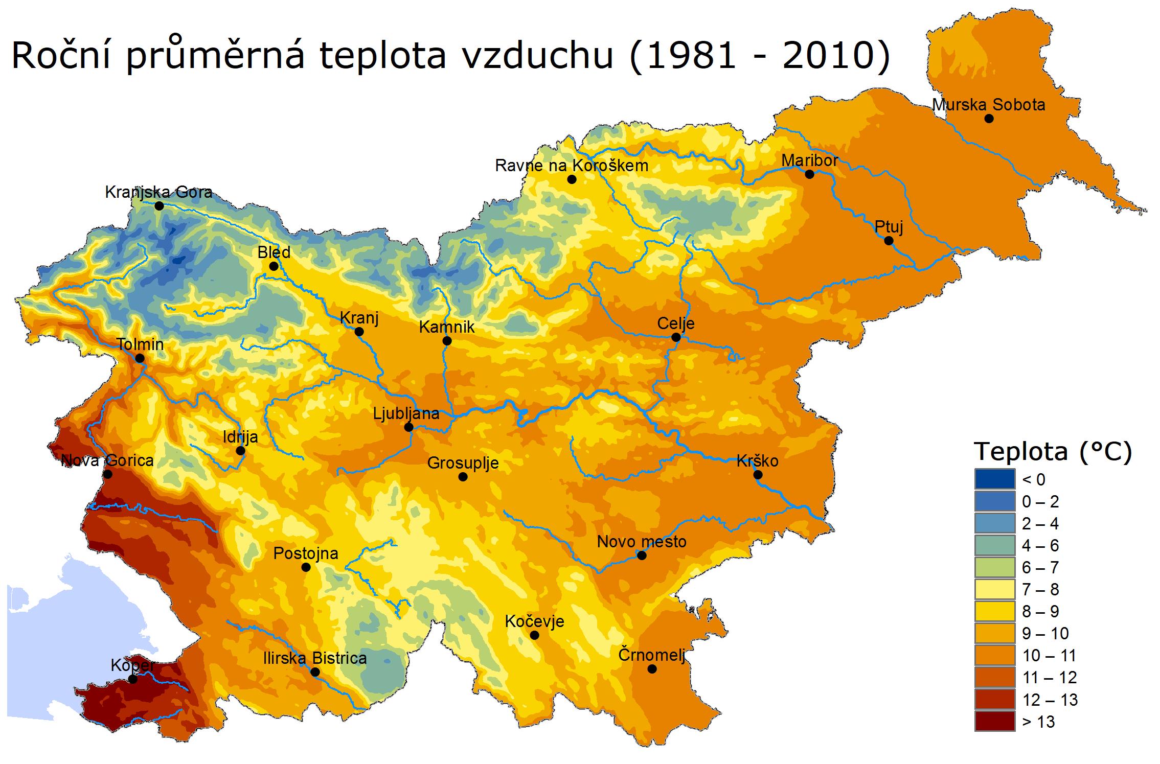 Podnebí ve Slovinsku