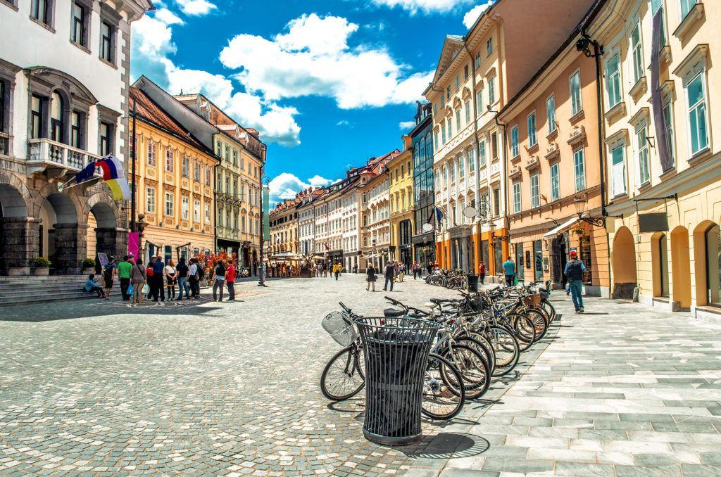 Mestni trg, Lublaň, Slovinsko