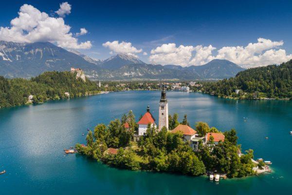 Bled, Julské Alpy, Slovinsko