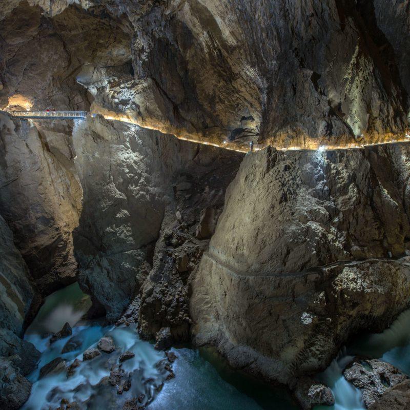 Škocjanské jeskyně, Slovinsko. Foto: Borut Lozej, arhiv Park Škocjanske jame