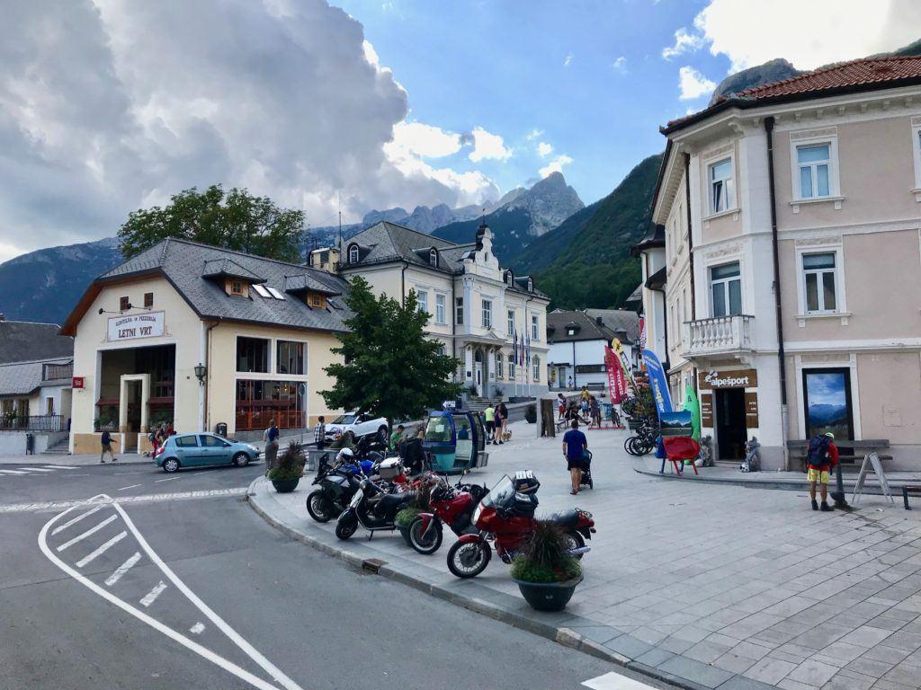 Bovec, údolí Soči, Slovinsko
