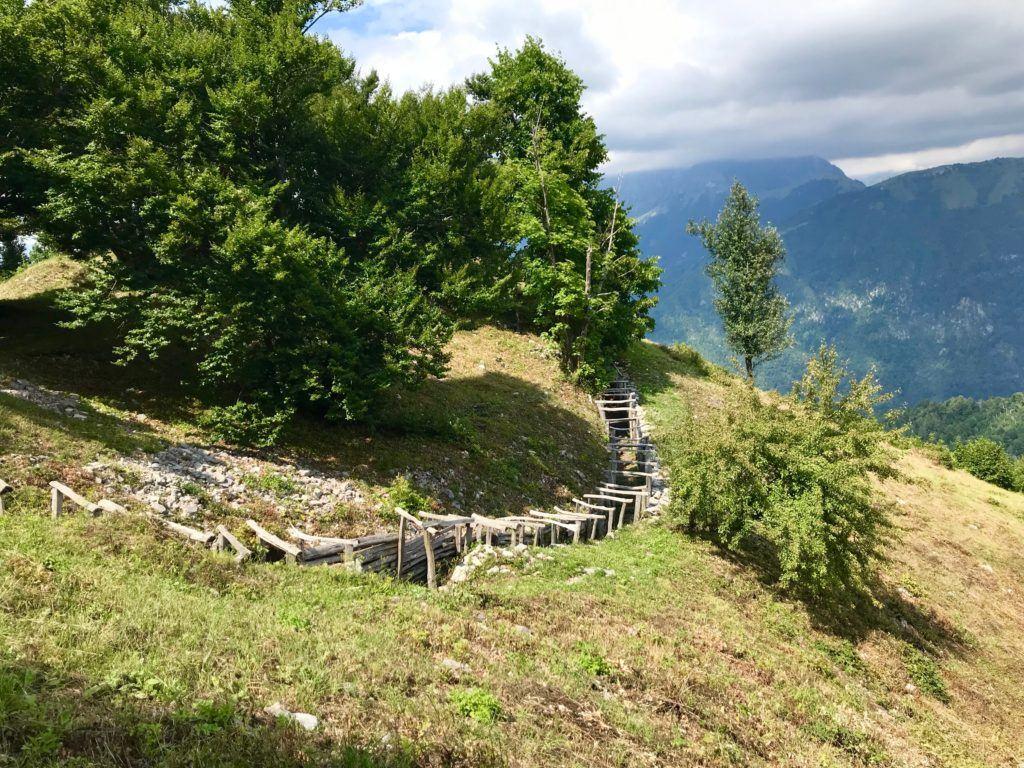 Kolovrat, Pot miru, Slovinsko