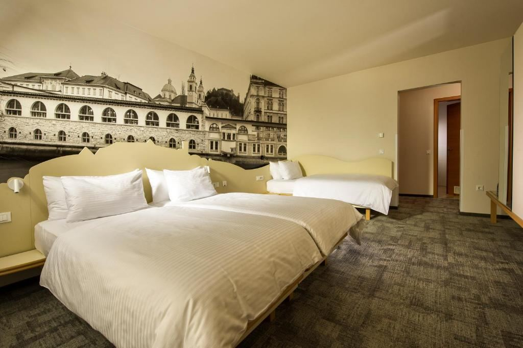 City Hotel Lublaň, Slovinsko
